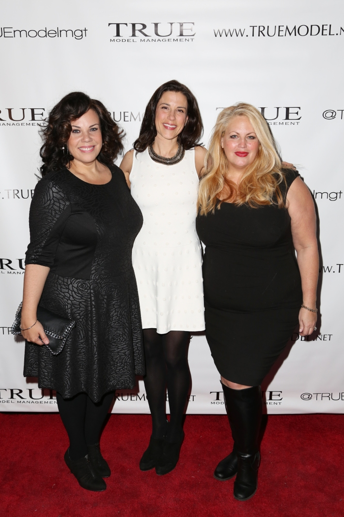 Maddy Jones, Dale Noelle, Alexandra Boos attend Dale Noelle Presents True Model Management's Winter Warm Up (Photo by  J Grassi)