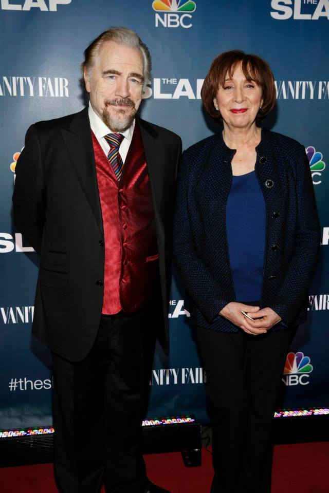 Actors Brian Cox and Maria Tucci attend 'The Slap' premiere party at The New Museum