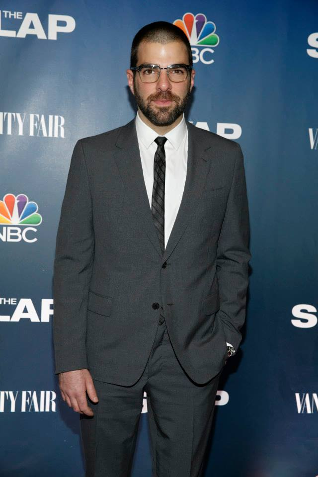 Actor Zachary Quinto attends 'The Slap' premiere party at The New Museum