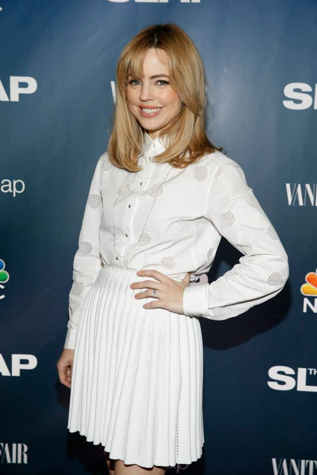 Actress Melissa George attends 'The Slap' premiere party at The New Museum