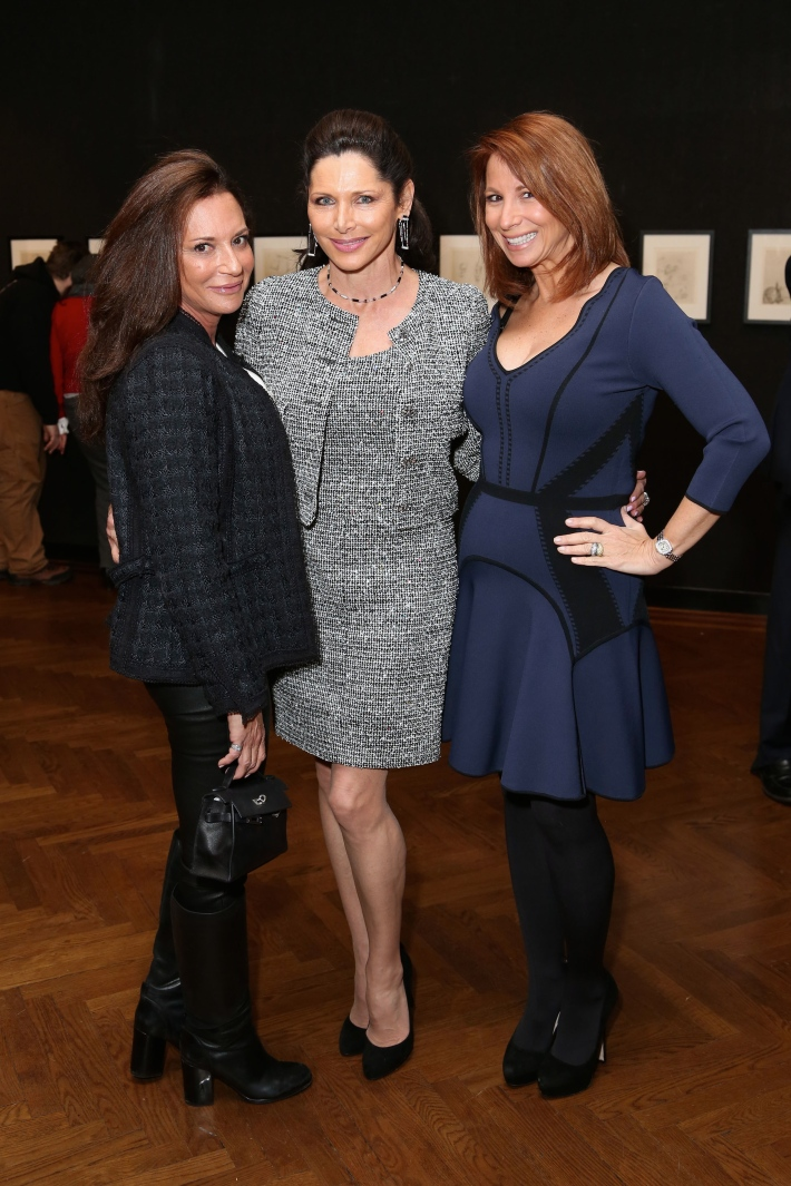 Diane Davis, Sheila Rosenblum, Jill Zarin attend Dali: The Golden Years at the The National Arts Club in New York City (Photo by  J.Grassi)