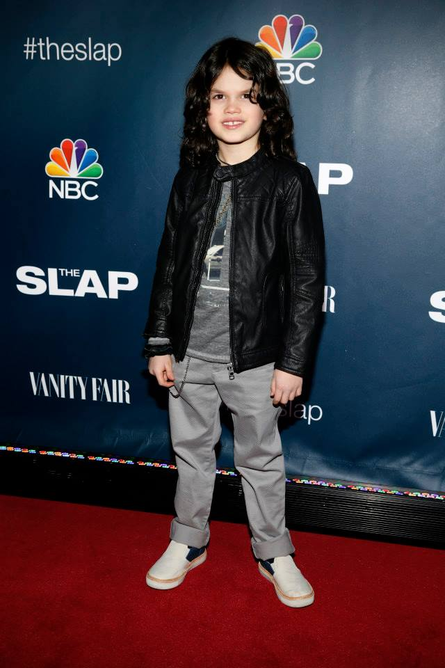 Actor Dylan Schombing attends 'The Slap' premiere party
