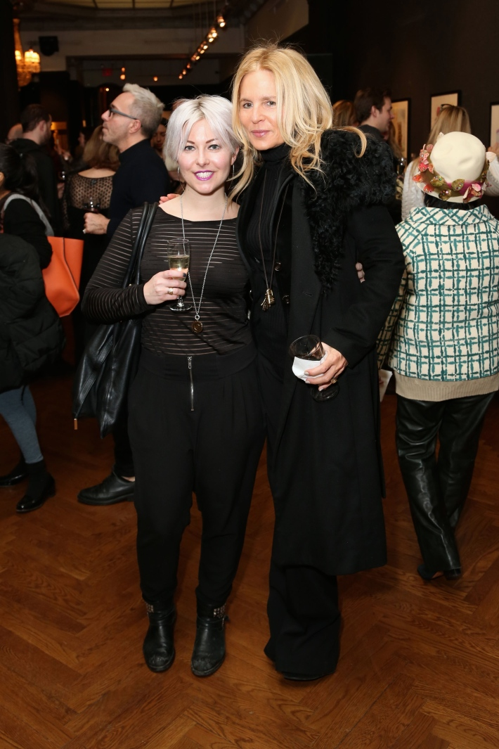 Courtney Joy, Elizabeth Cohen attend Dali: The Golden Years at the The National Arts Club in New York City (Photo by  J.Grassi)