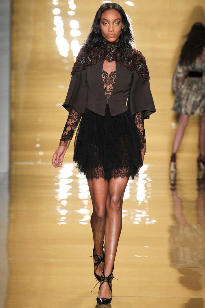 Reem Acra Fall 2015 – Mercedes-Benz Fashion Week (Photo by MarcusTondo)
