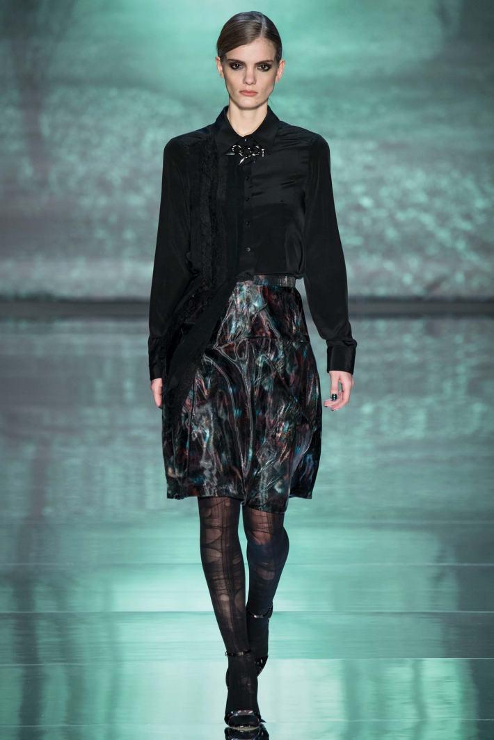 Nicole Miller Fall 2015 – Mercedes-Benz Fashion Week (Photo by YanniVlamos)