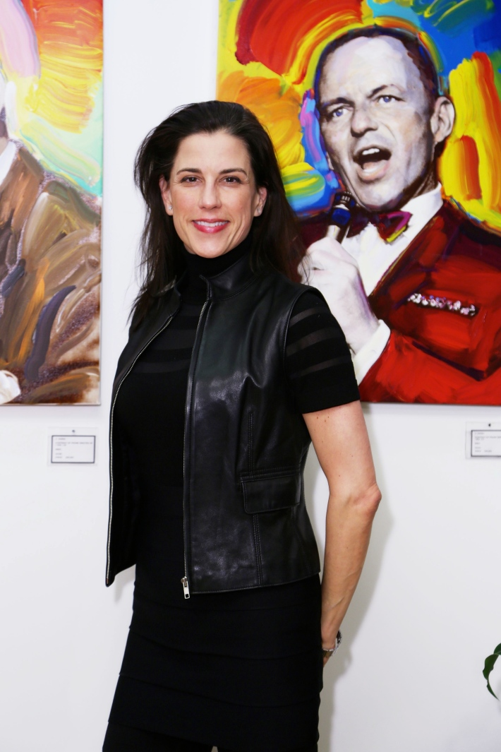 Dale Nicole  at the Peter Max Paints Frank Sinatra: An American Icon reception (Photo by  J Grassi)