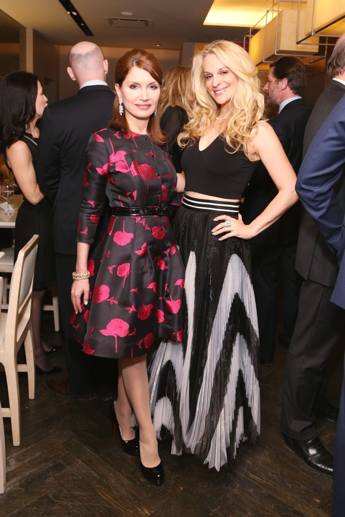 Jean Shafiroff, Consuelo Vanderbilt Costin attend JEAN PATOU Celebrates a Century of Style at Bergdorf Goodman with the Museum of the City of New York (Photo by J.Grassi)