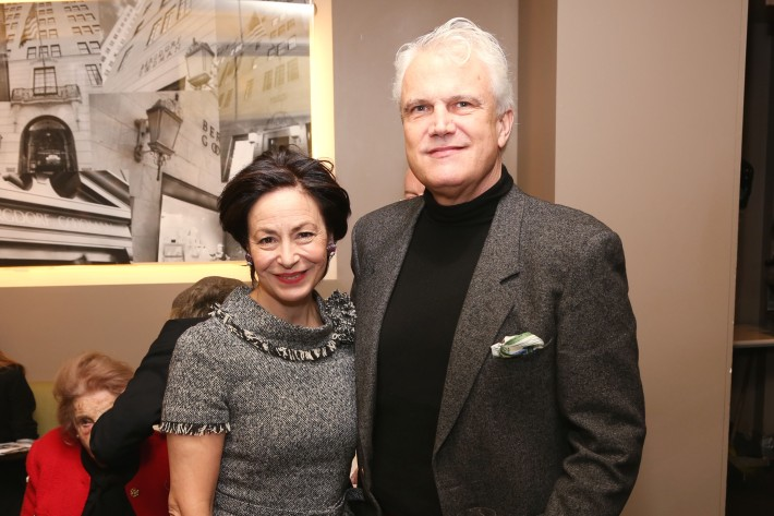 Renee Nino de Rivera, Thomas Knapp  attend JEAN PATOU Celebrates a Century of Style at Bergdorf Goodman with the Museum of the City of New York (Photo by J.Grassi)