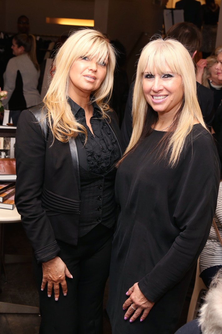 Gail Simmonete, Patty Buttacavoli attend JEAN PATOU Celebrates a Century of Style at Bergdorf Goodman with the Museum of the City of New York (Photo by J.Grassi)