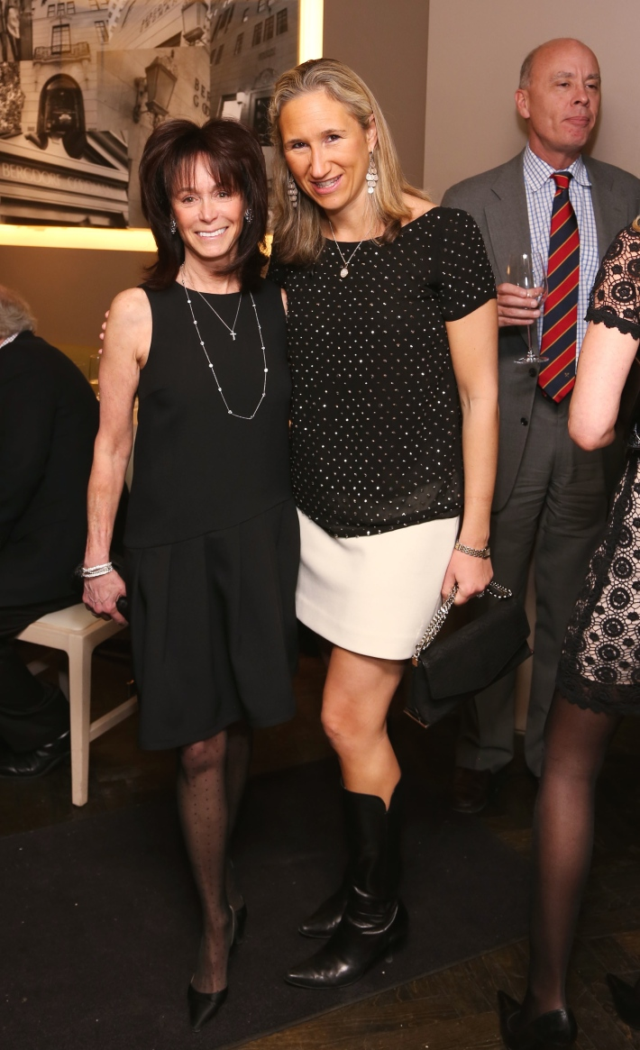 Wendy Carduner, Tatiana Perkin attend JEAN PATOU Celebrates a Century of Style at Bergdorf Goodman with the Museum of the City of New York (Photo by J.Grassi)