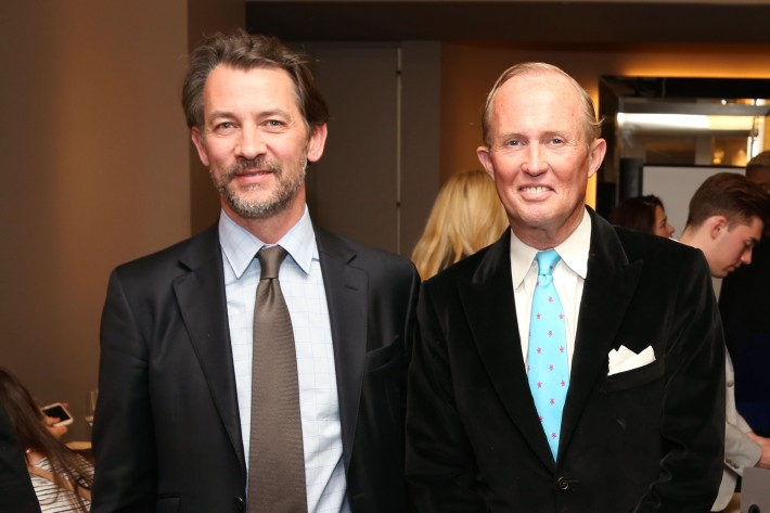 Thomas Fontana, Mark Gilbertson attend JEAN PATOU Celebrates a Century of Style at Bergdorf Goodman with the Museum of the City of New York (Photo by J.Grassi)