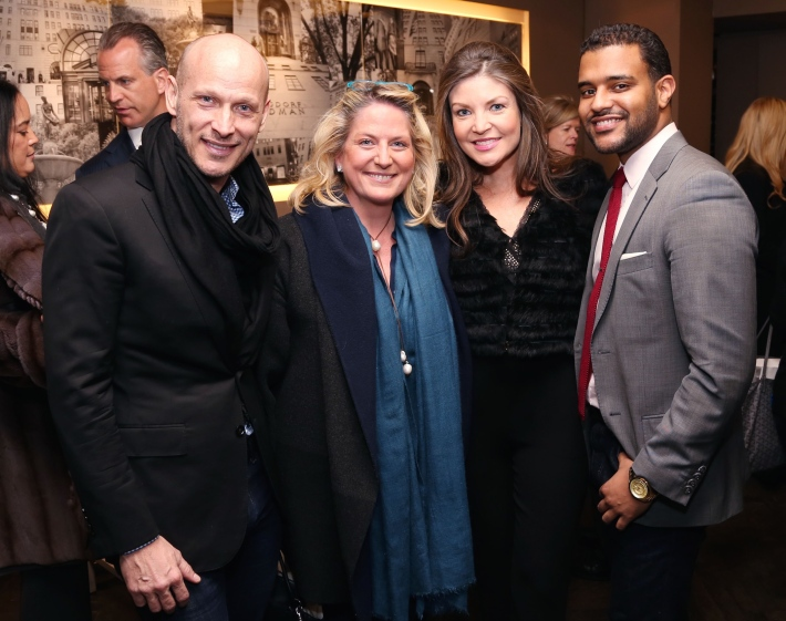 Guests attend JEAN PATOU Celebrates a Century of Style at Bergdorf Goodman with the Museum of the City of New York (Photo by J.Grassi)