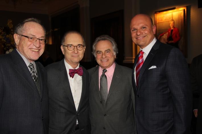 Alan Dershowitz, Hon. Barry Kamins, Benjamin Brafman, Arthur Aidala