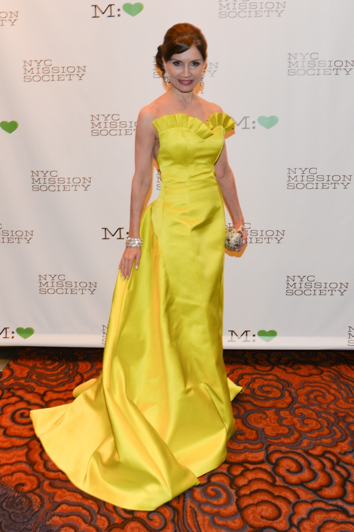 """Jean Shafiroff attends NYC Mission Society """"Champions for Children"""" Gala (Photo by Annie Watt)"""