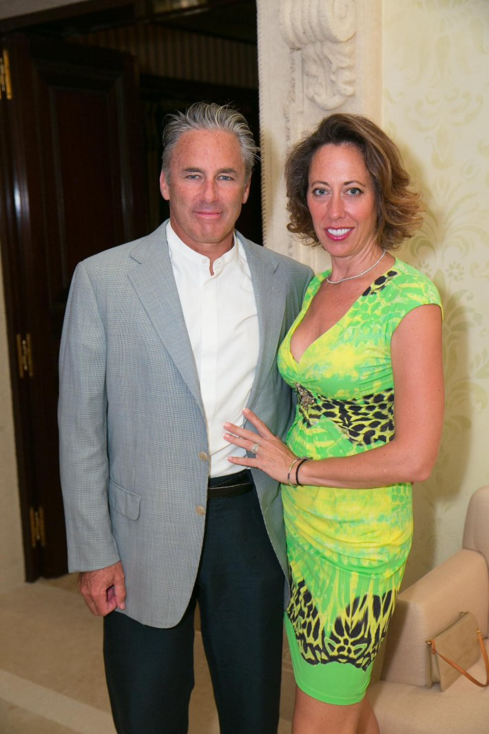 Campion & Tatiana Platt attend Palm Beach doctors and donors dinner for Hope for Depression Research Foundation (Photo by Doug McGlothlin)