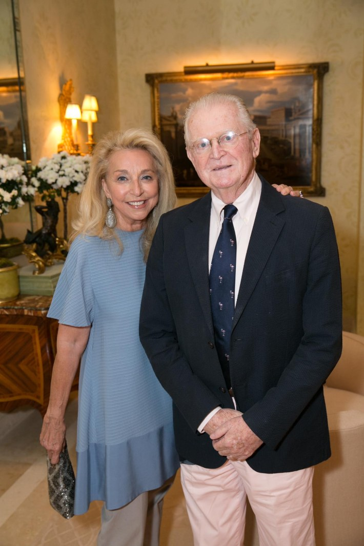 Eleanora & Michael Kennedy attend Palm Beach doctors and donors dinner for Hope for Depression Research Foundation (Photo by Doug McGlothlin)