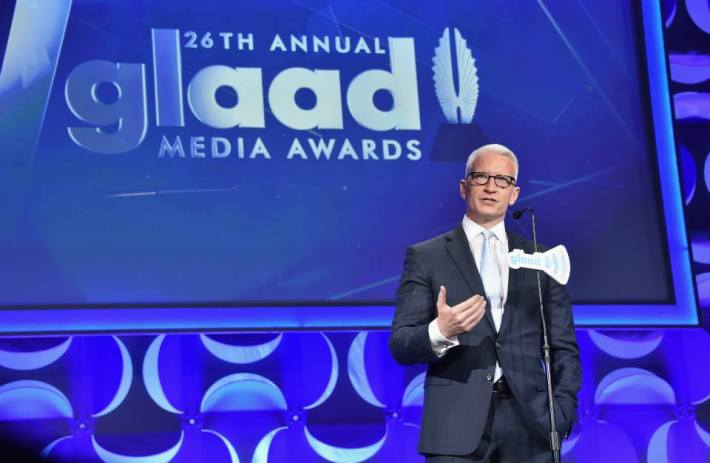 26th Annual GLAAD Media Awards In New York on May 9, 2015 in New York City