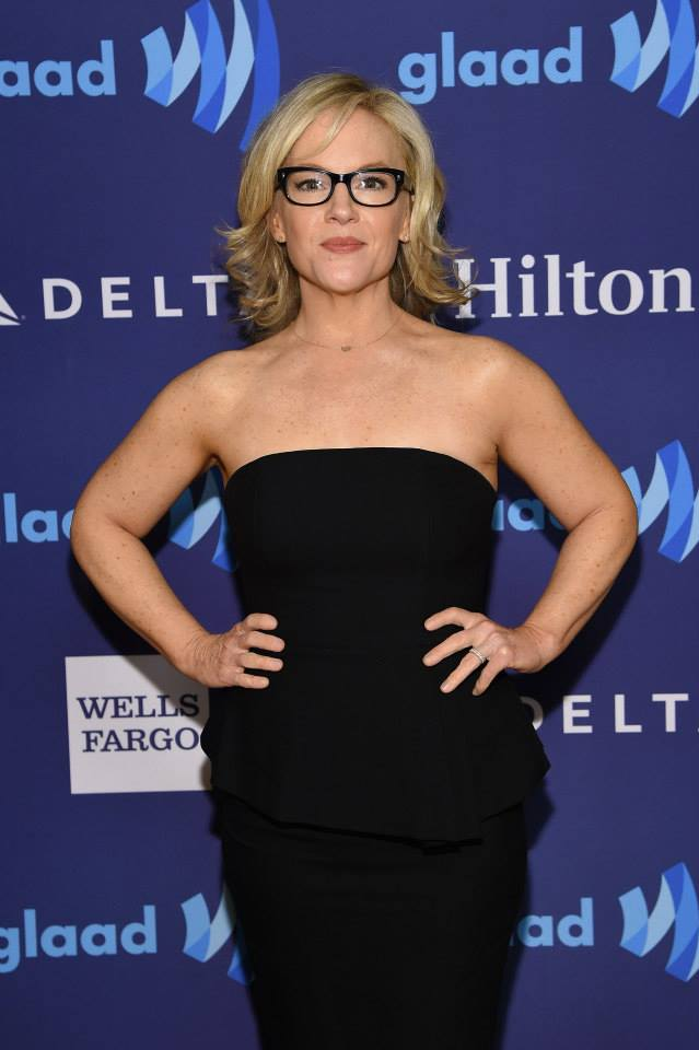 Actress Rachael Harris attends the 26th Annual GLAAD Media Awards In New York