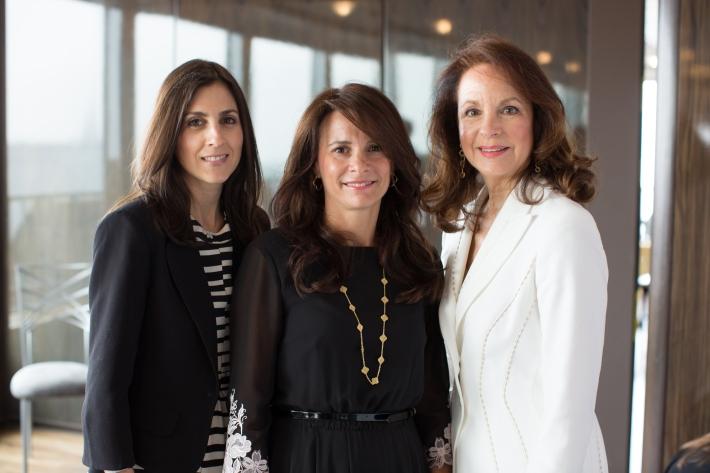 Talia, Lianne and Karen Mandelbaum attend The Women's Division of Albert Einstein College of Medicine hosted its 61st Annual Spirit of Achievement Luncheon (Photo by jtorresphoto-com)