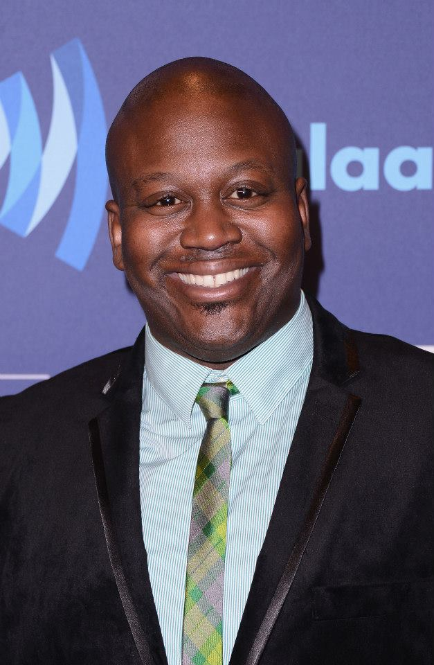 Tituss Burgess attends the 26th Annual GLAAD Media Awards In New York