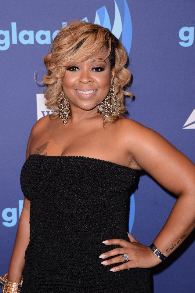 Monifah Carter attends the 26th Annual GLAAD Media Awards In New York