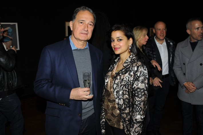 Byron Hero, Payal Parekh attend Halsband Portraits at The National Arts Club (Photo by PaulBruinooge)