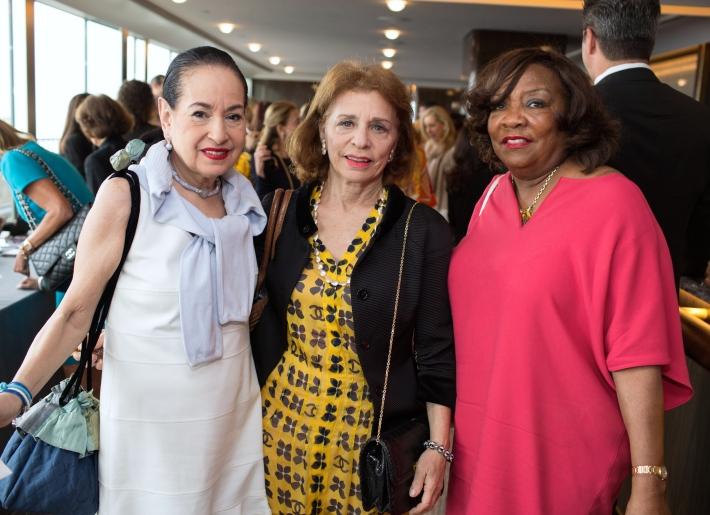 Sherry Miller, friend, Brenda Neal attend The Women's Division of Albert Einstein College of Medicine hosted its 61st Annual Spirit of Achievement Luncheon (Photo by jtorresphoto-com)