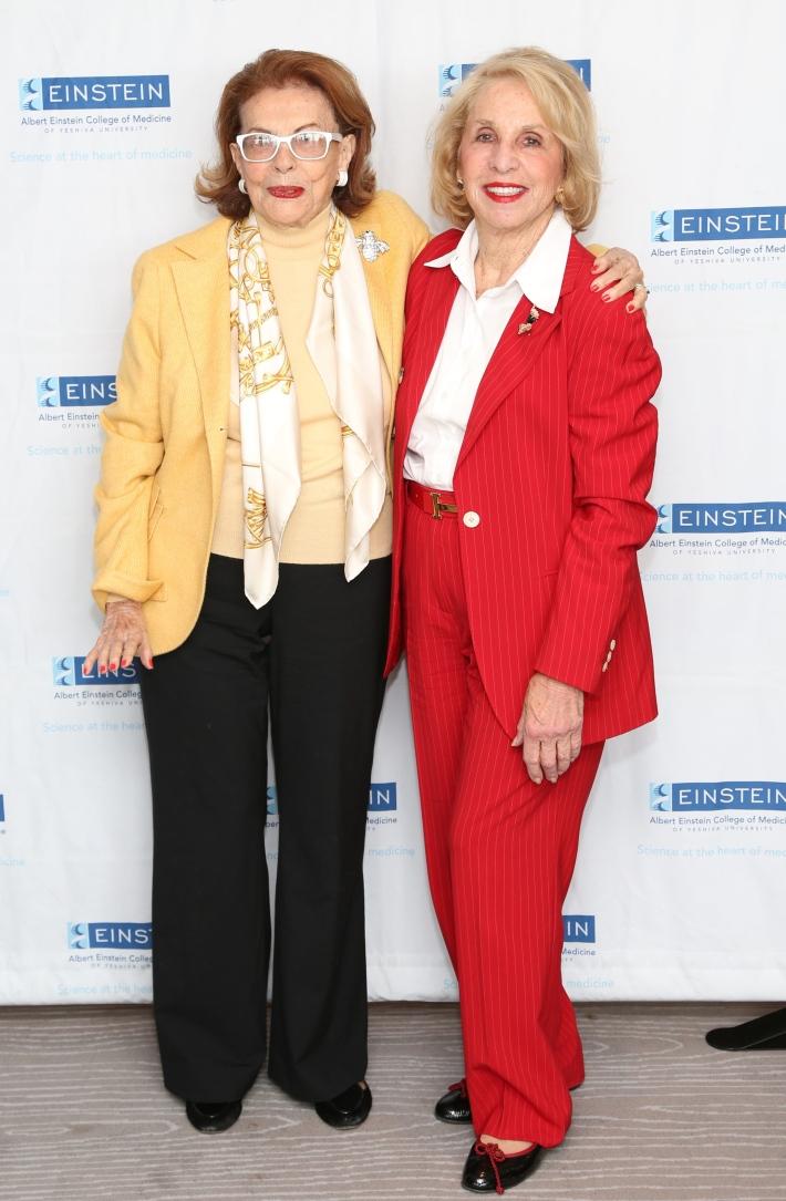 Emily Fischer, Dasha Epstein attend The Women's Division of Albert Einstein College of Medicine hosted its 61st Annual Spirit of Achievement Luncheon (Photo by JonathanGrassi)