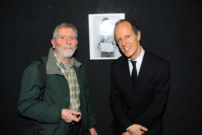 Sid Kaplan, Michael Halsband attend Halsband Portraits at The National Arts Club (Photo by PaulBruinooge)