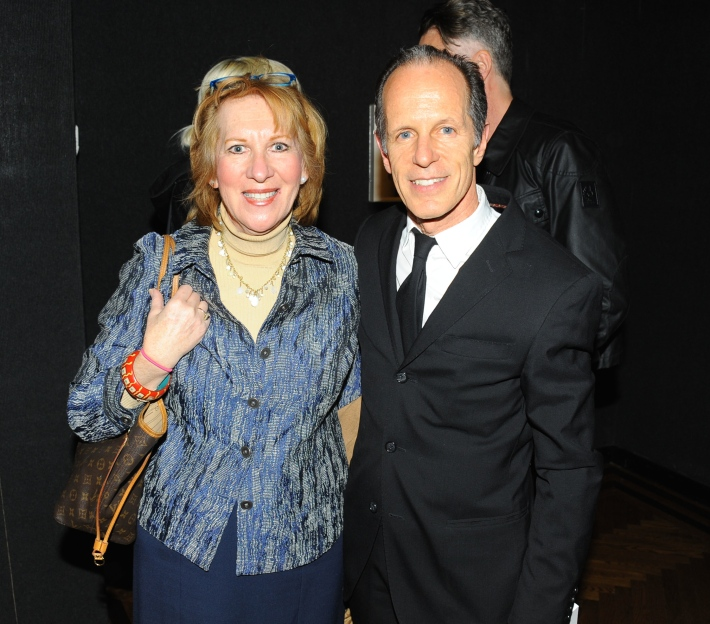Reina Schiffrin, Michael Halsband attend Halsband Portraits at The National Arts Club (Photo by PaulBruinooge)
