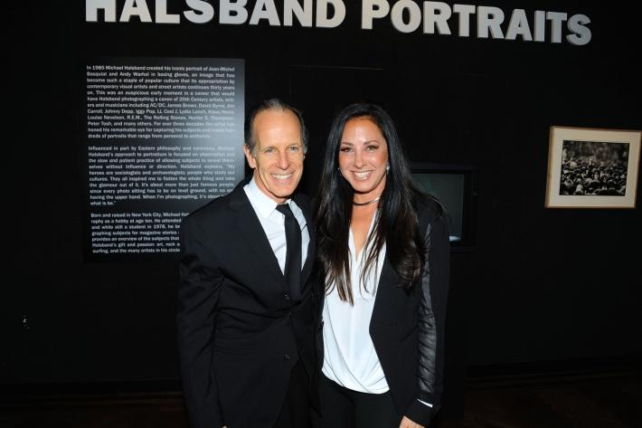 Michale Halsband, Angela Bernhard attend Halsband Portraits National Arts Club (Photo by PaulBruinooge)