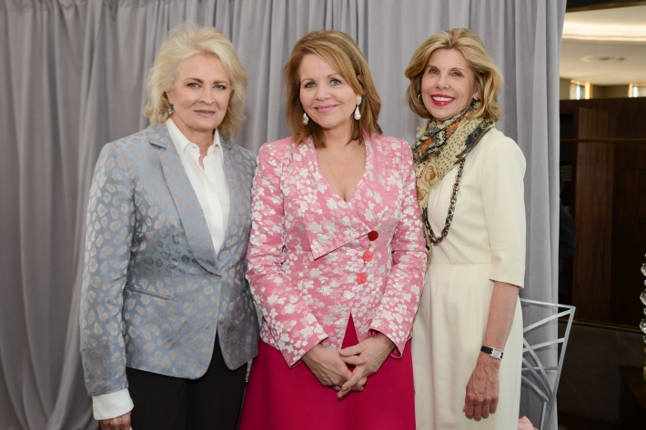 Candice Bergen, Renee Fleming, Christine Baranski attend The Women's Division of Albert Einstein College of Medicine hosted its 61st Annual Spirit of Achievement Luncheon (Photo by East Coast Photography)