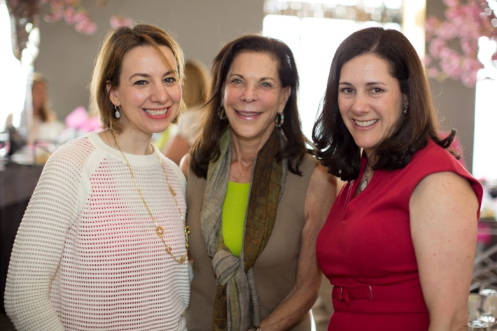 Sarah Hughes with friends attend The Women's Division of Albert Einstein College of Medicine hosted its 61st Annual Spirit of Achievement Luncheon (Photo by jtorresphoto-com)