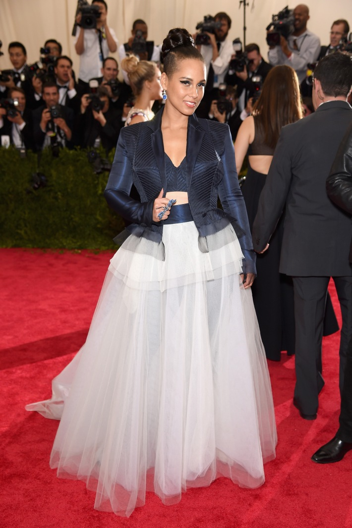 Alicia Keys attends the 'China: Through The Looking Glass' Costume Institute Benefit Gala at Metropolitan Museum of Art