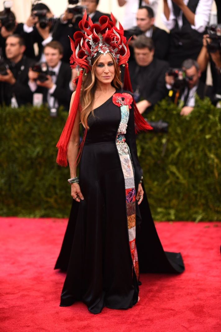 Sarah Jessica Parker attends the 'China: Through The Looking Glass' Costume Institute Benefit Gala at Metropolitan Museum of Art