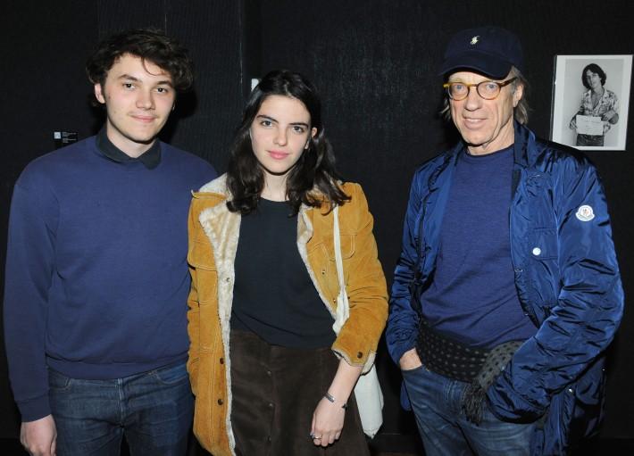 Jack Staffen, Eliza Callahan, Bill Leonard attend Halsband Portraits at The National Arts Club (Photo by PaulBruinooge)