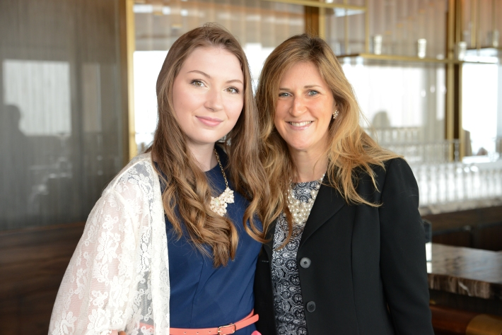 Brianna Barker and her mother attend The Women's Division of Albert Einstein College of Medicine hosted its 61st Annual Spirit of Achievement Luncheon (Photo by East Coast Photography)
