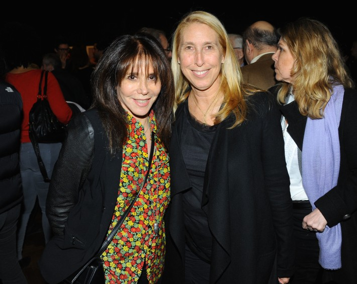 Jane Rose, Lisa Phillips attend Halsband Portraits at The National Arts Club (Photo by PaulBruinooge)
