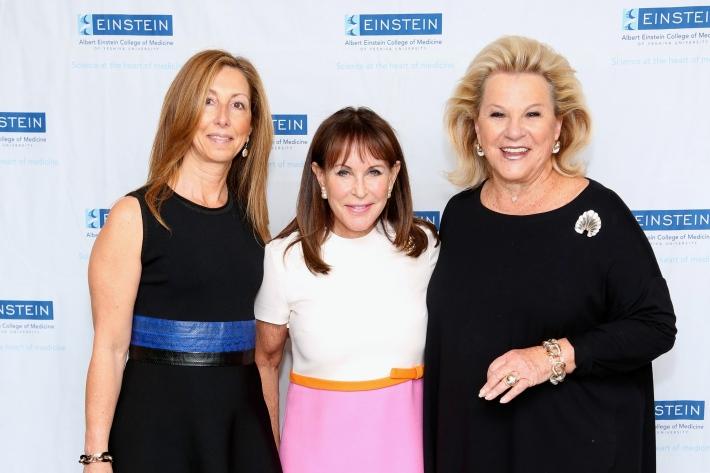 Terri Goldberg, Andrea Stark, Carol Roaman attend The Women's Division of Albert Einstein College of Medicine hosted its 61st Annual Spirit of Achievement Luncheon (Photo by JonathanGrassi)