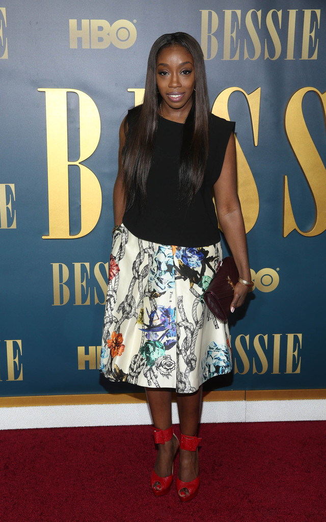 Estelle attends the 'Bessie' New York screening at The Museum of Modern Art