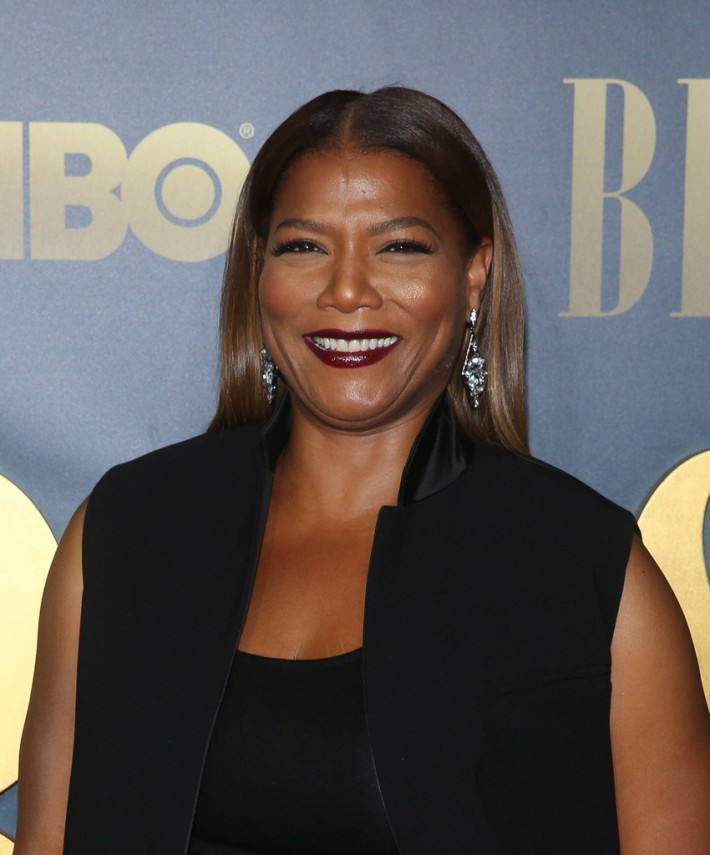 Queen Latifah attends the 'Bessie' New York screening at The Museum of Modern Art