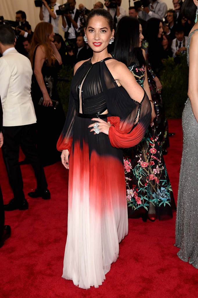 Olivia Munn attends the 'China: Through The Looking Glass' Costume Institute Benefit Gala at Metropolitan Museum of Art