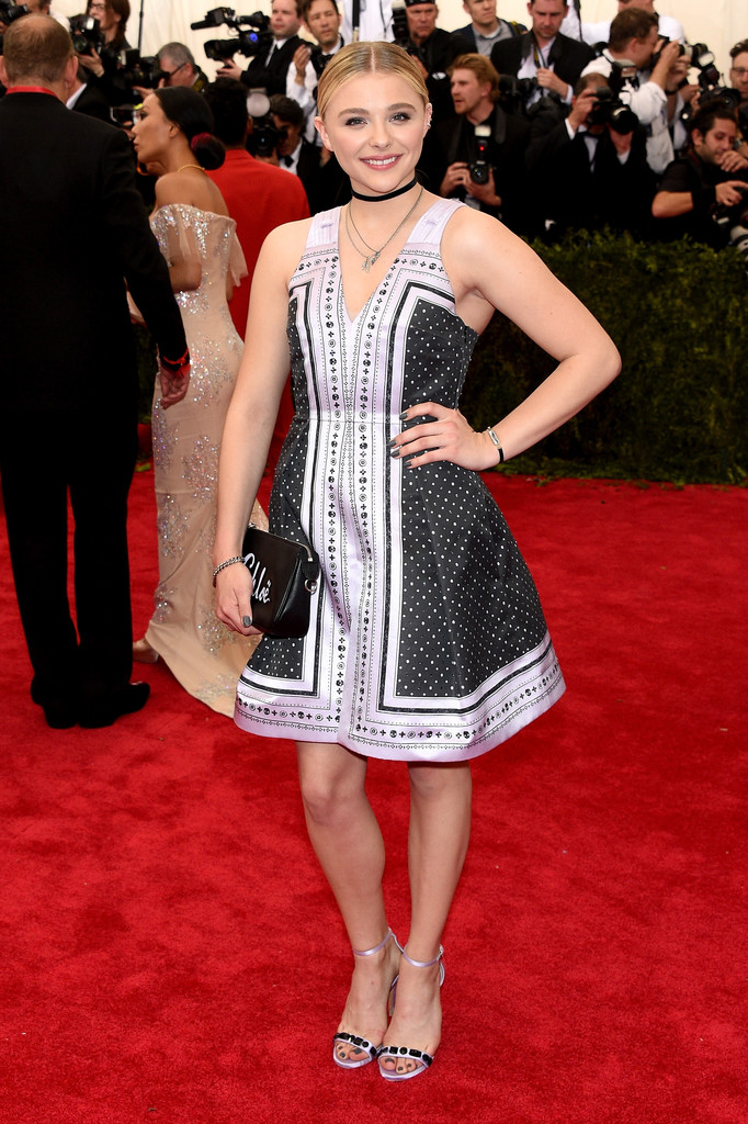 Chloe Grace Moretz attends the 'China: Through The Looking Glass' Costume Institute Benefit Gala at Metropolitan Museum of Art