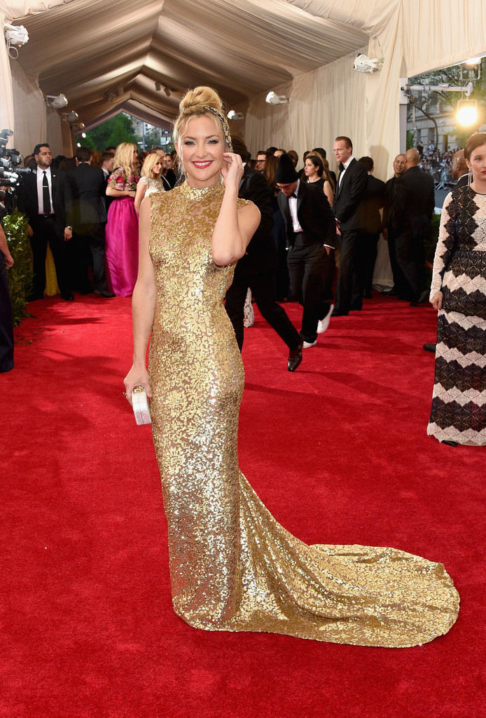 Kate Hudson attends the 'China: Through The Looking Glass' Costume Institute Benefit Gala at Metropolitan Museum of Art