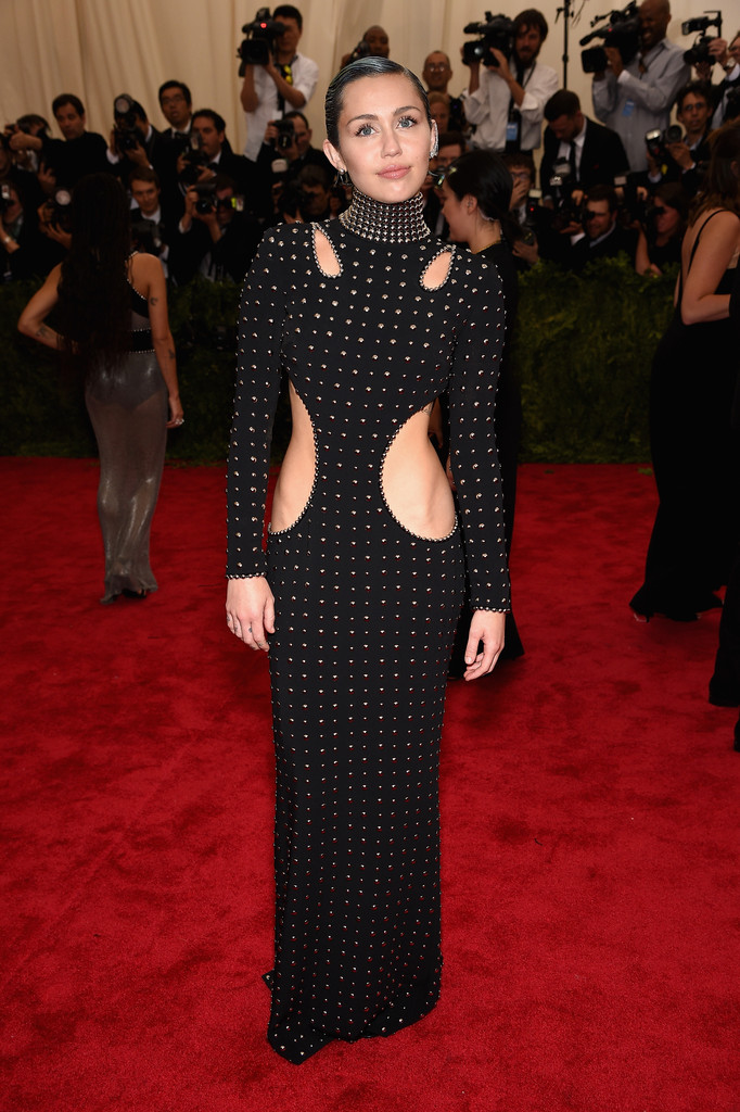 Miley Cyrus attends the 'China: Through The Looking Glass' Costume Institute Benefit Gala at Metropolitan Museum of Art