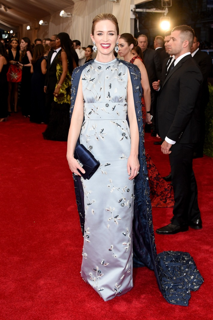 Emily Blunt attends the 'China: Through The Looking Glass' Costume Institute Benefit Gala at Metropolitan Museum of Art