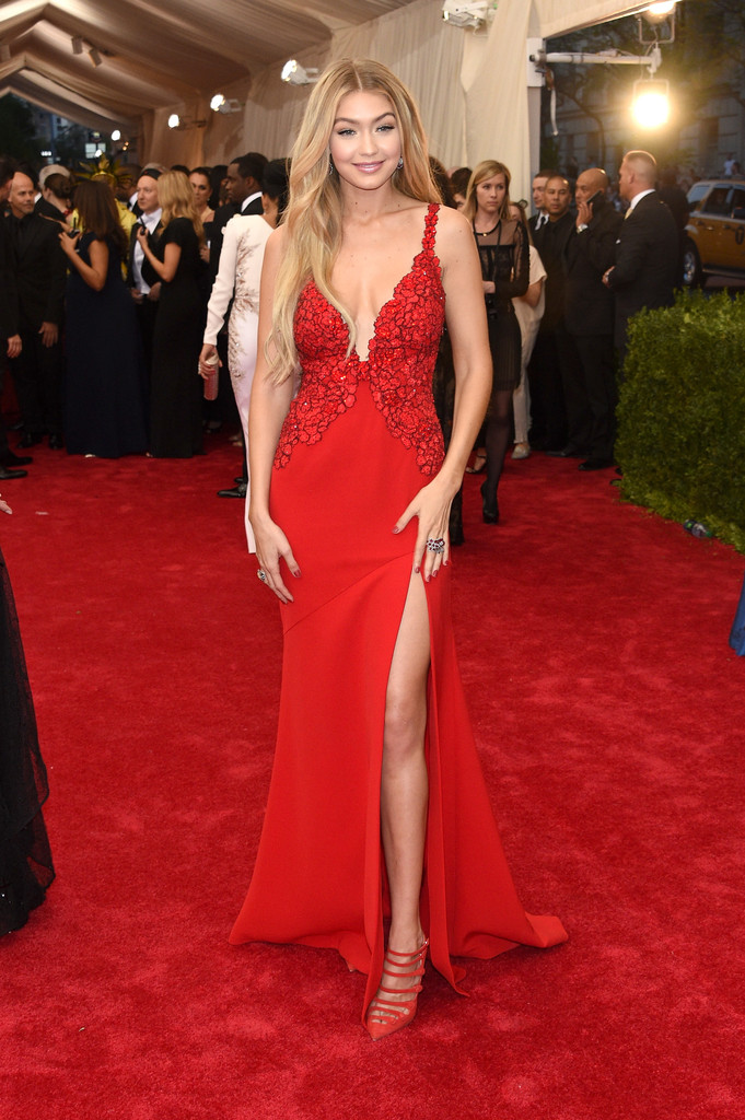 Gigi Hadid attends the 'China: Through The Looking Glass' Costume Institute Benefit Gala at Metropolitan Museum of Art