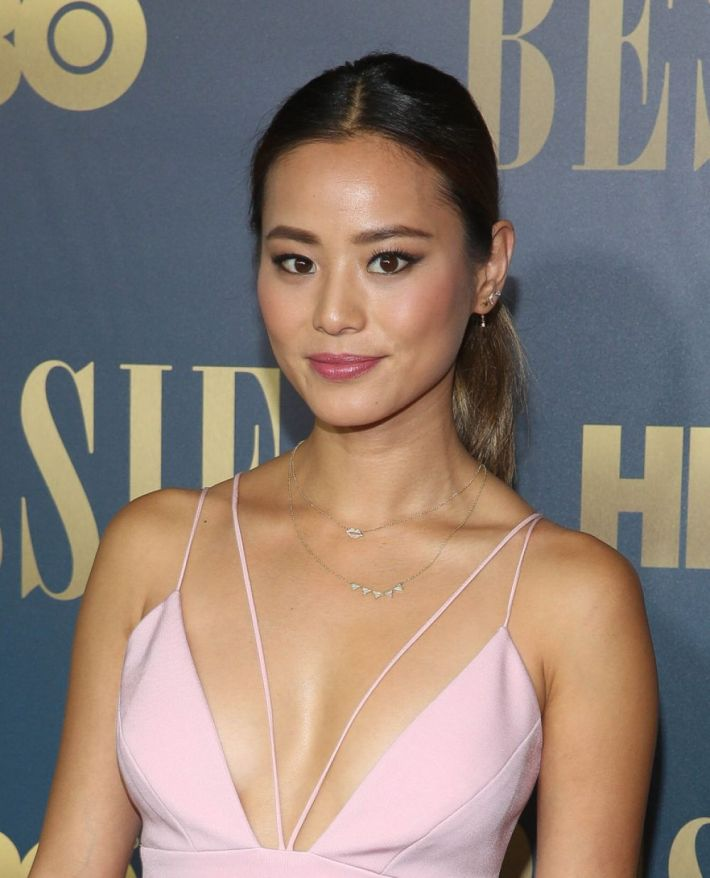 Jamie Chung attends the 'Bessie' New York screening at The Museum of Modern Art