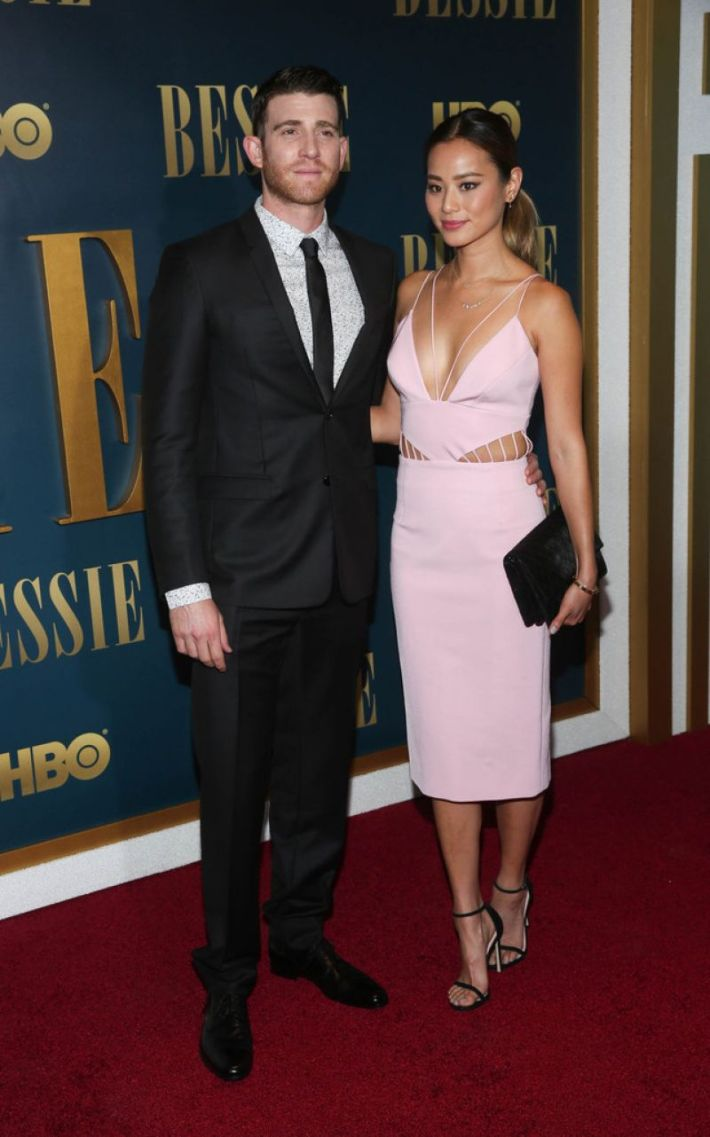 Bryan Greenberg and Jamie Chung attend the 'Bessie' New York screening at The Museum of Modern Art