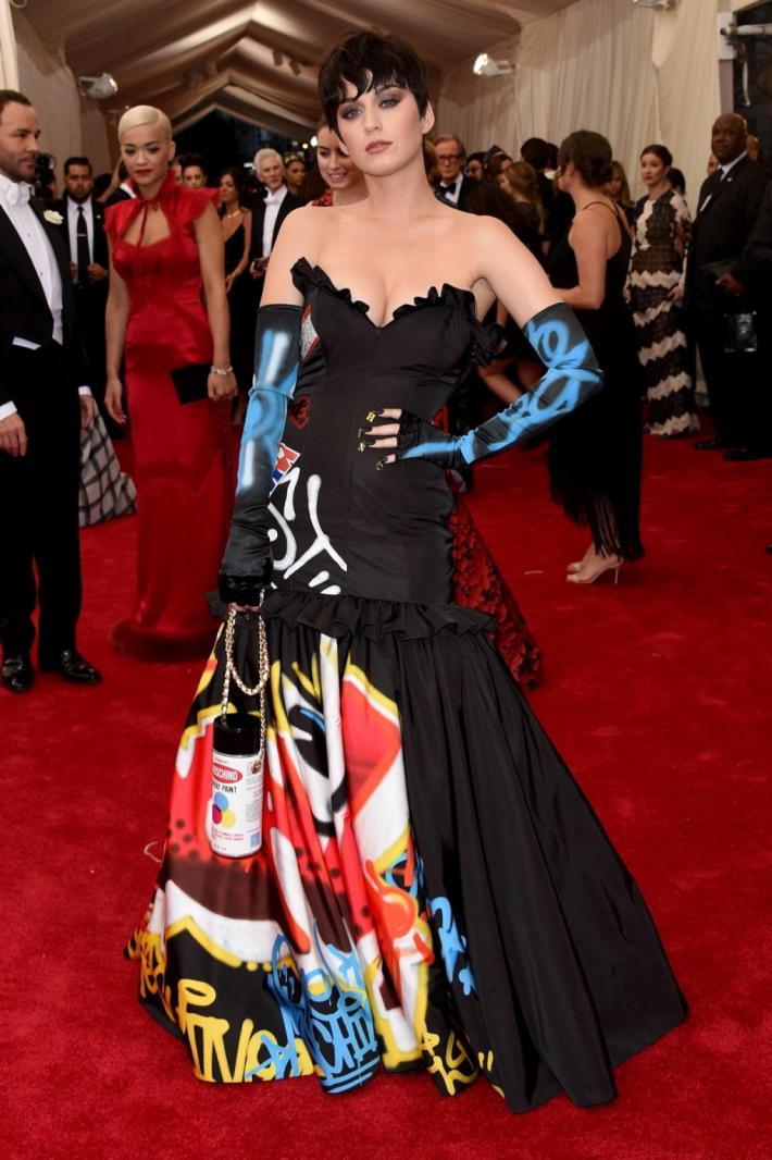 Katy Perry attends the 'China: Through The Looking Glass' Costume Institute Benefit Gala at Metropolitan Museum of Art